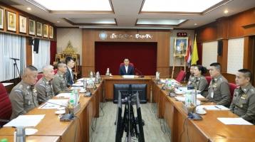 ประชุมคณะกรรมการนโยบายการพัฒนาเทคโนโลยีสารสนเทศ (CIO บช.ส.)