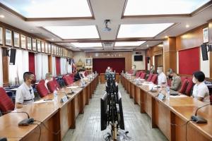 ประชุมเร่งด่วนเพื่อพิจารณาการทำงานตามนโยบาย ผบ.ตร. ในสถานการณ์ covid-19