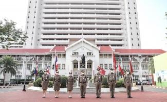 กิจกรรมเคารพธงชาติ ประจำเดือน ก.พ.2564