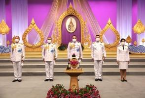 กองบัญชาการตำรวจสันติบาล ร่วมบันทึกเทปรายการพิเศษถวายพระพรชัยมงคล สมเด็จพระนางเจ้าฯ พระบรมราชินี เนื่องในโอกาสวันเฉลิมพระชนมพรรษา 3 มิถุนายน 2564 ณ สถานีวิทยุโทรทัศน์กองทัพบก ช่อง 5